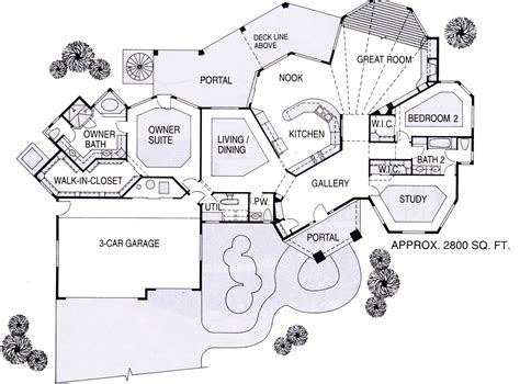 dream house layout the tijeras