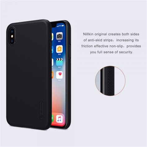 Nillkin Frosted Iphone X nillkin frosted shield for apple iphone x