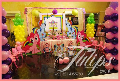 Wooden Decorations For Home by My Little Pony Rainbow Birthday Party Ideas In Pakistan