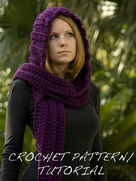 free pattern hooded scarf crochet 115 best crochet hoods images on pinterest crochet ideas
