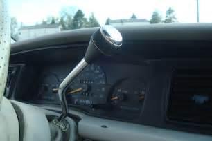 Steering Wheel Gear Shift On The Column Stick Shift