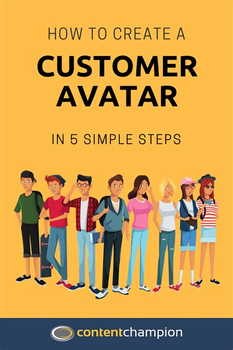 How To Create A Customer Avatar In 5 Simple Steps Customer Avatar Template