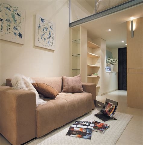 Living Room Ideas Pictures Small Spaces Small Space Design A 498 Square House In Taiwan