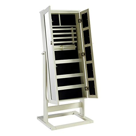 large mirror jewelry armoire large white cheval mirror jewelry armoire with 5 photo