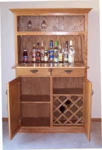 liquor cabinet hand crafted oak liquor cabinet by jay s custom woodwork custommade com