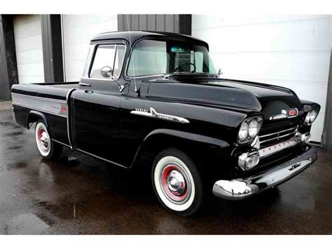 1958 chevrolet cameo 1956 to 1958 chevrolet cameo for sale on classiccars