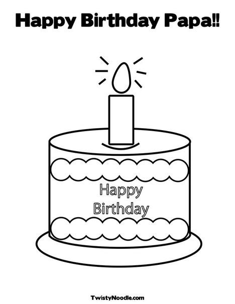 happy birthday papa coloring page happy birthday papa coloring pages