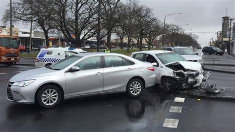 ballarat car crash car crash in ballarat cbd the courier