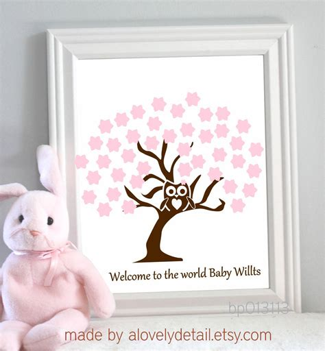 Baby Shower Guest Book Ideas by Baby Shower Guest Book Idea Par Tay