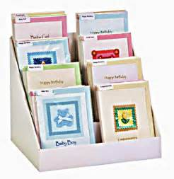12 inch greeting card display counter table by patrioticcards