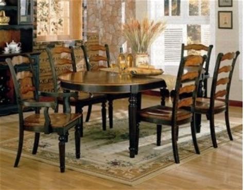 7 pc oval dinette dining room set table w 6 leather seat longoria 7 pc dining set oval table dining room