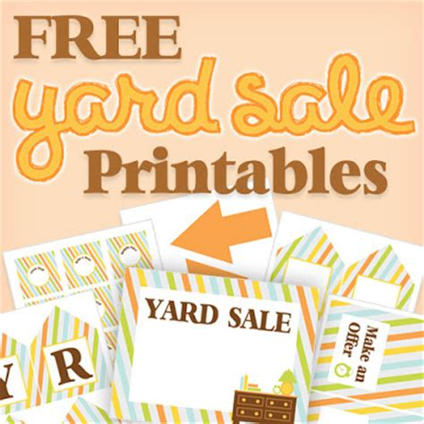 Free Garage Sale by Organized Garage Sales Get Inspired Simply Organized