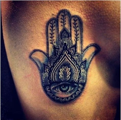 Tattoo Hindu Hand | hindu hamsa hand tattoo tatspiration pinterest