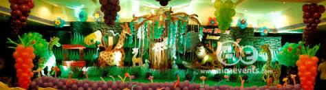 dekoration dschungel aicaevents india jungle theme birthday decorations