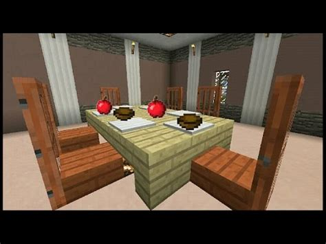 How Do You Make A Desk In Minecraft by Minecraft Pe How To Make A Table Improved Version