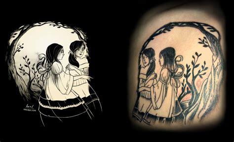 sisters tattoo by brewdog 77 on deviantart