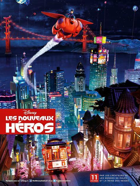 film disney les nouveaux heros les nouveaux h 233 ros disney planet