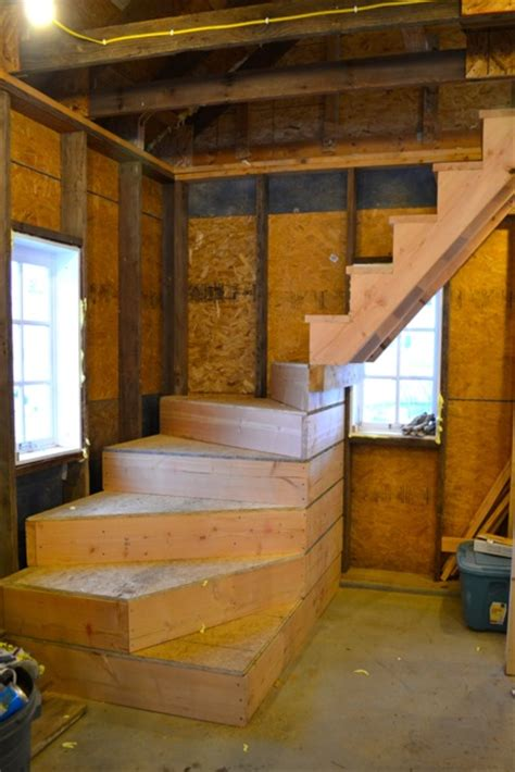 Garage Stairs Design A Barn Apartment Update Newlywoodwards