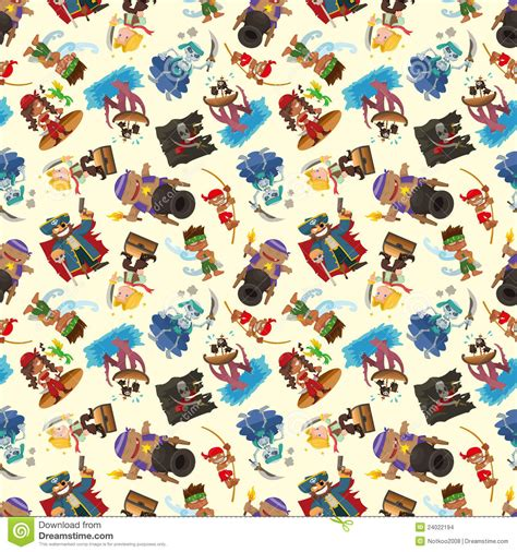 pattern for pirates seamless pirate pattern stock images image 24022194