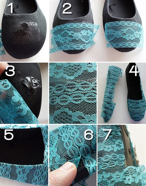 diy fashion craft ideas diy lace shoes pictures photos and images for