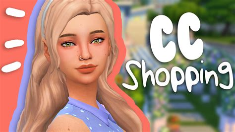 sims 4 maxis match cc hair the sims 4 cc shopping 7 a lot of maxis match youtube