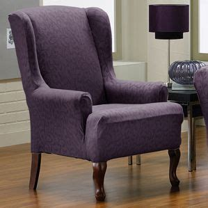 wing chair recliner slipcover pattern chair slipcovers home and beautiful on pinterest