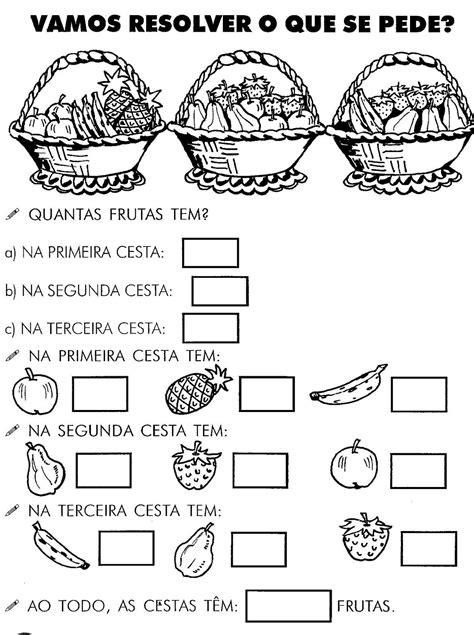 Blog Professor Zezinho : Atividades de Matemática para 1º