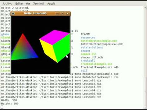 tutorial mono linux aprendiendo opengl tutorial 1 hello world doovi