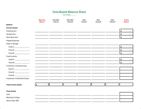 Assets And Liabilities Spreadsheet by Personal Assets And Liabilities Spreadsheet Template Free
