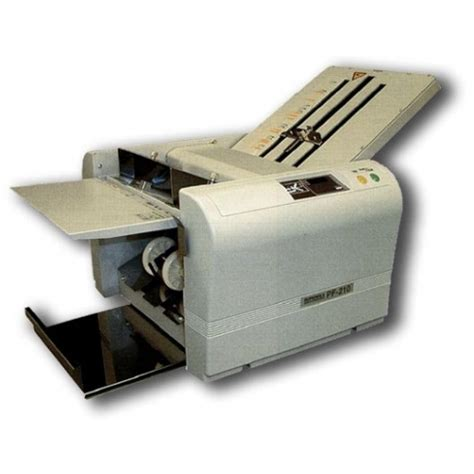 Paper Folding Machine Reviews - paper handling equipment superfax pf 215 paper folder