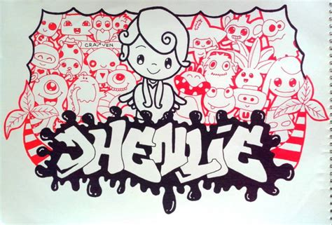 doodle with name doodle name jhenlie by craiven23 on deviantart