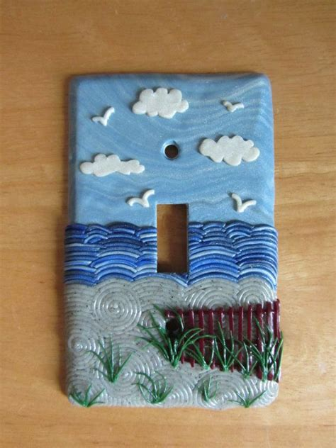 beach light switch covers 143 best images about clay light switch covers on