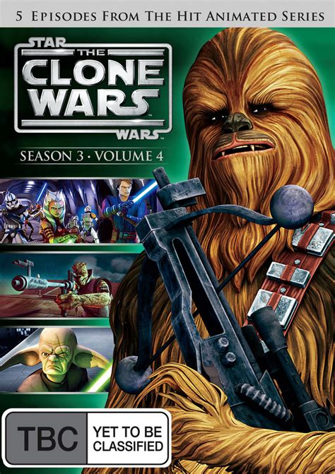 star wars vol 4 0785199845 star wars the clone wars season 3 volume 4 dvd buy now at mighty ape nz