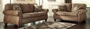 Home Furniture Living Room Sets Buy Furniture 3190138 3190135 Set Larkinhurst Earth Living Room Set Bringithomefurniture