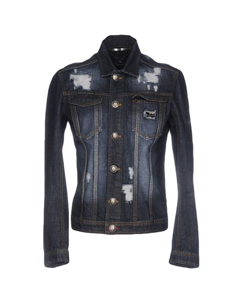 Philipp Plein Denim Outerwear by Philipp Plein Denim Outerwear In Blue For Lyst