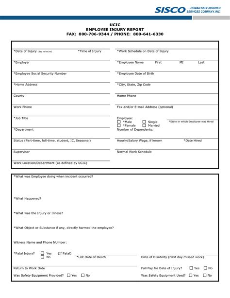 sle injury report form injury report template 28 images sle incident report
