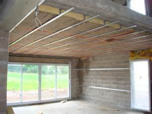 isolation du plafond sous un plancher eveno isolation