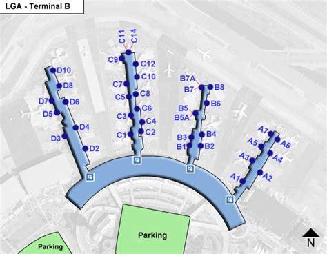 lga terminal map lga la guardia airport terminal maps