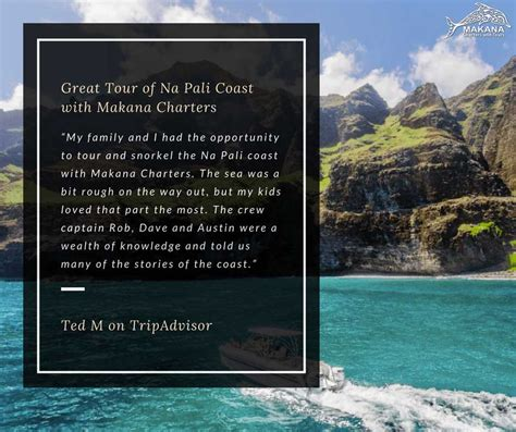 makana boat tours kauai makana charters na pali coast boat tours