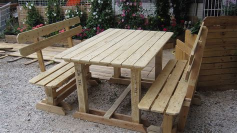 Pallet Patio Furniture Plans Pallet Outdoor Furniture Practical Yet Chic Ideas