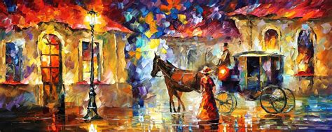 Wallpapers For Kids Room by Horses Palette Knife Oil Painting On Canvas By Leonid