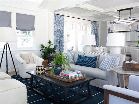 Gray Dining Room Chairs Coastal Living Rooms Cottage Living Room Pratt And