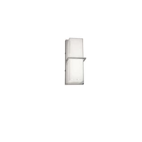 Kohler Purist Wall Sconce Kohler Purist 1 Light Polished Chrome Led Sconce K 14483 Cp The Home Depot