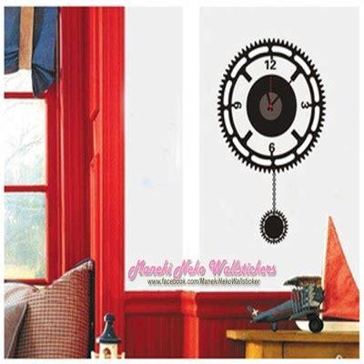 Baru Murah Layer Butterfly Wall Sticker Stiker Dinding maneki neko wallstickers