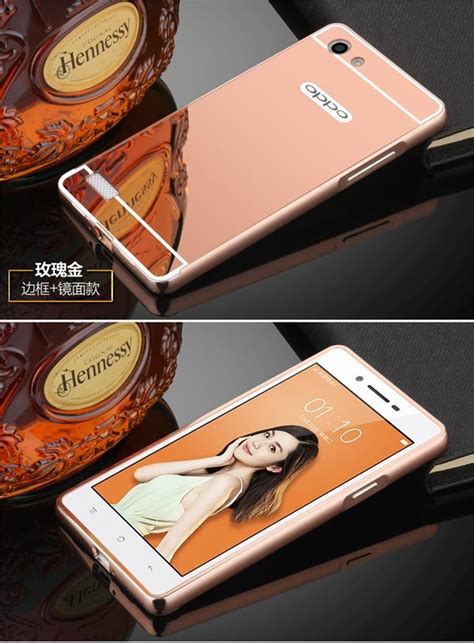 oppo a33f themes luxury premium quality pc mirror back cover for oppo neo 7