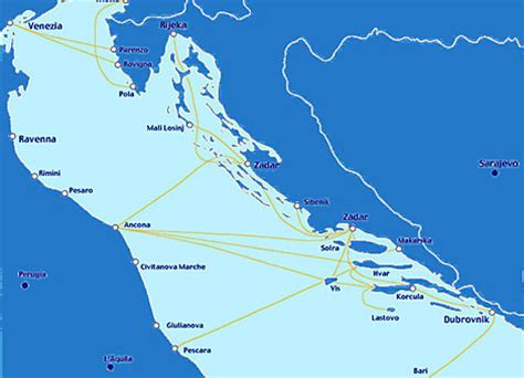 ferry boat zadar pula voyage en croatie croatie vakance charter