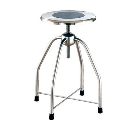 Stainless Steel Adjustable Stool by Stainless Steel Adjustable Height Stools