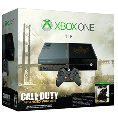 call of duty advanced warfare console xbox one microsoft xbox one limited edition call of duty