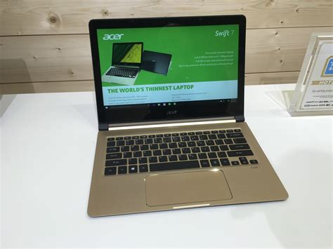 acer 7 and spin 7 are absurdly thin on