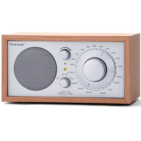 radio da tavolo tivoli audio radio da tavolo m1slc model one cherry